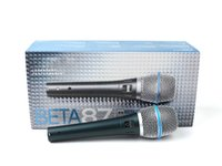 Wholesale Girls Mic - Beta 87A Supercardiod Condenser Vocal Microphone Legendary Performance 87 A Professional Handheld Wired Mic Portable Karaoke 50pcs Girls