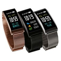Wholesale Color White Activities - X3 Smart Bracelets Watches Blood Pressure Sport Fitness IPS Color Bracelet GPS Activity Tracker Heart Rate Monitor Pedometer