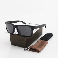 Wholesale polarize glasses for driver for sale - Group buy 5pcs New Fashion Pilot Polarized Sunglasses for Men Women Plank frame Mirror polaroid Lenses driver Sun Glasses with brown cases and box