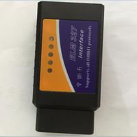 Wholesale mazda obd ii diagnostic resale online - ELM327 Wifi optional PIC18F25K80 chip Supports OBD II Protocols ELM OBDII OBD2 Diagnostic Tool Scanner