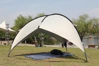палатка для кемпинга оптовых-BLUEFIELD большой навес навес навес пляж палатка пляж тень брезент кемпинг пикник Беседка навес беседка