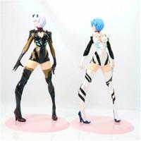 Wholesale adult figure anime - Demishop Anime Action Figure Neon Genesis Evangelion EVA Ayanami Rei 24cm Model Collection Adult Sexy Girl Decoration Doll