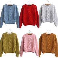 ca525b01f925 Long Sweater Knitting Patterns Free Online Shopping - O Neck Long Sleeve  Women Sweaters 2018 Winter