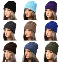 df7948ecd19920 Winter Hats for Women Beanie Female Hat Warm baggy Stretch Knit Chunky  Cable Beanie Ski Cap KKA6204
