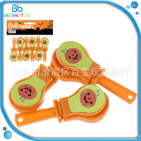 Wholesale clapper toy for sale - Mini Sound Clappers Plastic Pumpkin Pattern Clicker Sound Maker Halloween Party Favor Toy Creative Kid Gift bb C