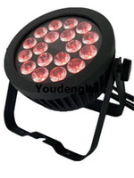 Wholesale event flats resale online - 4 pieces Waterproof Event Flat stage light China led par light mix color rgbw in1 dmx par led x12w