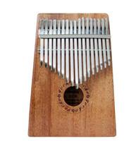 инструмент для фортепиано оптовых-17 ключ K17m Калимба 17 Африканский палец фортепиано палец ударные клавиатуры музыкальные инструменты дети Маримба дерево