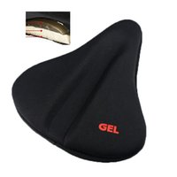 Wholesale silicone gel bike seat cover for sale - Group buy New Bike Soft Bicycle Silicone Silica Gel Cushion Comfortable Pad Saddle Seat Cover