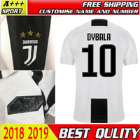 Wholesale italy home - 2018 New Italy juventus Club Player Version soccer jersey 18 19 home DYBALA MARCHISIO MANDZUKIC 2018 Serie A football shirt