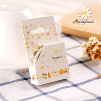Wholesale Fairy Stationery - Wholesale- 2016 1 pcs Cute Forest fairy tale Decorative adhesive tapes Paper washi tape 15 mm*7 m for scrapbooking stationery school suppl