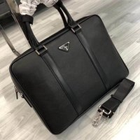 Wholesale Luxury brand Briefcases Genuine leather Briefcases best quality fashion Dress business briefcase men computer bags cm Model TTA002