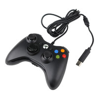 Wholesale free pc controller online - Xbox PC Gamepad Game Controller For Windows High Quality with retail box free DHL shipping