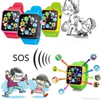 Wholesale hottest toddler toys online - smart watch hot children learning multifunction smart watch kids toddler wrist touch screen toy digital watches