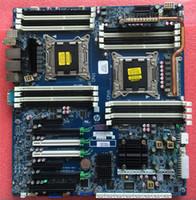 hp hdmi vga al por mayor-Placa base para estación de trabajo HP Z820 Intel LGA2011 DDR3 708610-001 618266-004