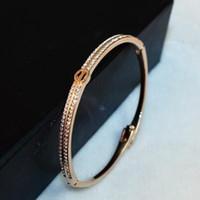 bracelet en diamant couleur achat en gros de-Corée haute qualité diamant bracelet fleur délicate couleur bijoux de mode bracelet design de la marque luxe tempérament bracelet féminin