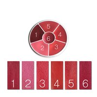 Wholesale professional wheels - German Brand Professional Make-up Lip Rouge Wheel Lipstick Palette 6 colors