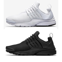 Wholesale b essential - Classic Presto ESSENTIAL Men Women Sneaker Tripel Black White red Running Shoes mens womens sports shoes athletic Jogging shoes size 36-45