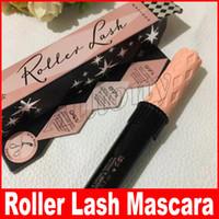 Wholesale Roller Sizes - Hot Makeup Slim roller lash Mascara Waterproof 3D Mascara Black Color waterproof natural eye cosmetic DHL Free