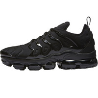 Wholesale cool running shoes for sale - HOT Vapor Plus TN Olive Men s Running Shoes Sports For Women Sneakers Trainers White Silver Cool Grey For Male Shoe Triple Black Rainbow USA