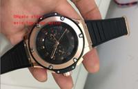 король механический оптовых-последняя версия роскошные наручные часы 44 мм черный King Power Diver розовое золото автоматические механические мужские часы высокого качества