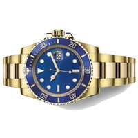 Wholesale men's luxury watches online - Famous Logo R6Submariner Date The Diver S Watch Oystersteel Oyster mm Wrist Watch For Men Luxury Brand Business Watches