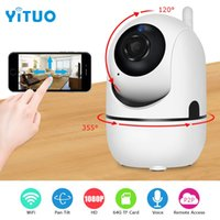 Wholesale day night camera audio for sale - Group buy 1080P IP Camera Wifi Home Video Surveillance Camera Night Vision Security Camera Two Way Audio Baby Monitor YITUO