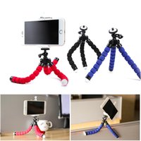Wholesale Digital Camera Holders - Mobile Phone Stand Car Phone Holder Flexible octopus Tripod Bracket Digital Camera Mini Portable Flexible Desktop Stent