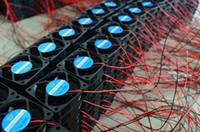 tarjetas gráficas amd al por mayor-Nuevo 6010 60MM 60 * 60 * 10MM DC 5V 12V 24V Silencio ultrafino Ventilador de la tarjeta gráfica Ventilador Ventilador con 2 pines