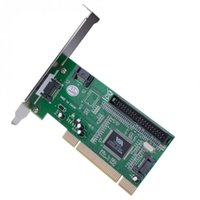 Wholesale hdd card for sale - New Hot PCI to Ports SATA IDE Combo Controller Card Adapter Converter VIA6421 Chip HDD AC388 QJY99