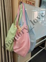 Wholesale letter soft toys online - 4colors Hot sale Personalized Oversized Large Hobo Beach Bag Kids Beach Toys Receive Bag Seersucker Beach Bag Vagrant Bags