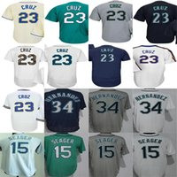 Wholesale Womens Boys Shorts - 2017 Mens Womens Youth Toddler Seattle 23 Nelson Cruz 15 Kyle Seager 34 Felix Hernandez White Grey Blue Green Beige Cheap Baseball Jerseys