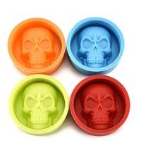 Wholesale mousse molds - Baking Molds Cookie Cake Mould Mousse Cookie Cake Mold skull Rectangle Tree Skull Shape Hand Made Cakes Moulds IB721