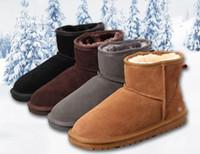 ingrosso sconto di avvio-VENDITA CALDA inverno Nuovo WGG Australia Classic stivali da neve A +++ Qualità A buon mercato donna uomo inverno stivali moda sconto Stivaletti scarpe taglia 5-12