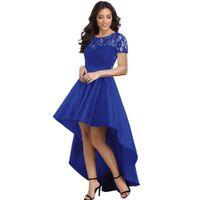 buy popular 9d9d1 7e295 Vendita all'ingrosso di sconti Abito Blu Royal Donna in ...