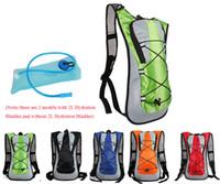 sistema de hidratação bladder backpack venda por atacado-Esportes ao ar livre Saco de Água de Água de volta Pack 5L Bump Hump Mochila TPU Bolsa Sistema de Hidratação Caminhadas Escalada Ciclismo Bicicleta Mochila de bicicleta