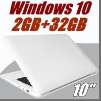 ingrosso computer portatili-nuovo laptop notebook Windows 10 Atom X5-Z8350 1.92Ghz Quad-core 10.1 pollici LED 16: 9 schermo HD 1366 * 768 HDMI 2GB 32GB