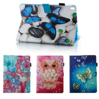 Wholesale cartoon tablets covers for sale - Group buy Cartoon Printed Leather Flip Cover Case for iPad Pro9 Mini kickstand Tablet PC Cases for Huawei MediaPad M5 Lenovo Tab