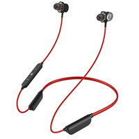 Wholesale earphones plug cell phone for sale – best Popular Mobile Phone I INTO I6 earphone Hanging Neck Ear Clip Type Bluetooth Headset ear plug bluetooth headset with charging warehouse
