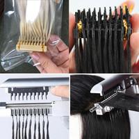 ingrosso tecnologia dei capelli-# 613 # 1B un'esperienza più piacevole Silky Straight Invisible Double Drawn High End Tecnologia di connessione Estensioni dei capelli umani vergini brasiliani 6D