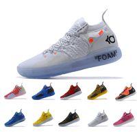timeless design 17286 74666 Neue Ankunft KD XI 11 EP Rot Gelb Sport Basketball Schuhe für Hochwertige Herren  Kevin Durant 11s Trainer Designer Sneakers Größe 40-45