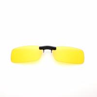 ingrosso occhiali da sole polarizzati gialli-Pillot Night Vision Women Men Clip su occhiali da sole Brand Designer occhiali da sole polarizzati Occhiali da guida gialli Gafas De Sol
