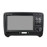 Wholesale audi gps radio - Free shipping Octa core Andriod 6.0 Car DVD player for Audi TT with GPS,Steering Wheel Control,Bluetooth, Radio