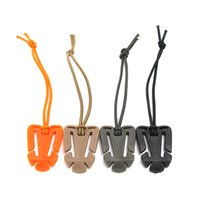 Wholesale Clip Backpack - 5pcs Molle Backpack Carabiner Elastic Rope Webbing Buckle Ribbon Clip Outdoor Camping Buckles 4colors for Choose