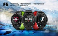 Wholesale Apple Multi Monitor - F5 Smart Watch Android smartwatch GPS Smartwatch Heart Rate Monitor Watch Waterproof Watch Wristband Sport Smartwatch Multi Sports Tracker