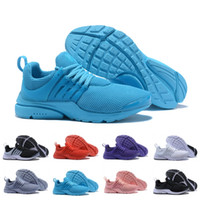 Wholesale cheap lights - Hot Sale Cheap Prestos Casual Light Running Shoes men women Black Blue Prestos V Breathable Discount Sneakers