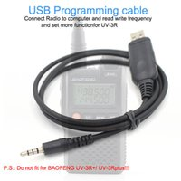 Wholesale baofeng programming cables online – USB Programming Cable Data Cable For BAOFENG UV R UV3R Two way Radio