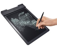 Wholesale big screen lcd - New 9 inch Portable Digital Writing Tablet Drawing Board With LCD Writing Screen with Drawing Pen Handwriting Pads Drawing Toy For Kids