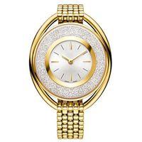 Wholesale diamond ivory - 2017 popular Luxury women watch with running diamond Fashion lady dress watch model Women watch famous brand Relojes De Marca Mujer