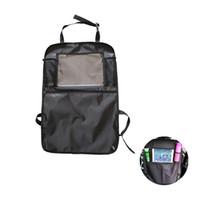ingrosso supporto multifunzione tavoletta-2pcs Universal Car Seat Back Organizer 600D Multi-Pocket custodia da viaggio automatica con supporto per tablet