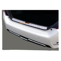 Wholesale threshold for car for sale - For Honda Civic th Sedan car styling Stainless Steel internal built Rear back Bumper trim plate Trunk frame threshold pedal